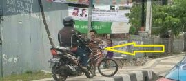 Daffa, Bocah Pemberani dari Semarang Pengusir Pemotor Bandel yang Melintas di Trotoar