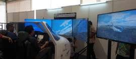 Menjajali Sensasi Terbangkan Pesawat N219 di Ritech Expo 2017