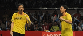 Ganda Putra Indonesia, Meraja di Dubai Superseries 2015