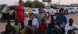 Mahasiswa Indonesia di Sudan adakan kegiatan Takjil on The Road