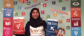 Gadis Indonesia ini Menjadi SDG'S Youth Ambassador UNDP di Indonesia