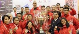 Indonesia Raih Juara Umum Asian Muay Championship 2015