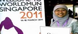 Indonesia Students Win WMUN Award