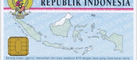 Indonesian E-ID Card Finally Issued
