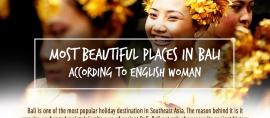[Infografis] 5 Tempat Terindah di Bali