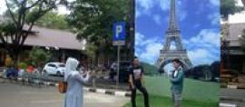 Ingin Foto Seperti sedang di Prancis dan Singapura ? Cukup ke Terminal Ini