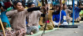 Jemparingan, Gaya Panahan Asli Indonesia