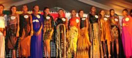 Wow…Batik Indonesia jadi busana pembuka peserta Miss Senegal 2016
