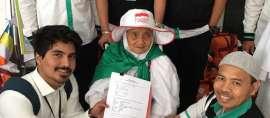 Jamaah Haji Tertua Dunia Asal NTB: Diapresiasi Jokowi, Diundang Raja Salman