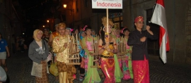 The echo of Angklung in Europe