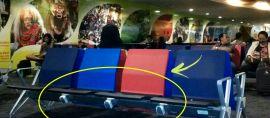 Ada yang Tak Biasa dengan Kursi Tunggu Bandara di Indonesia ini