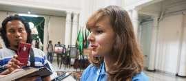 Mengenal Mahasiswi UNPAD Asal Ukraina yang Menjadi Chairwoman Bali Democracy Student Conference