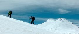 Mendaki Elbrus dengan Cara yang tidak Biasa dilakukan Anggota Kampala Bengkulu