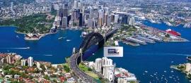 Menjulang di Sydney