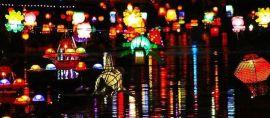 Melirik Indahnya Festival Lampion Untuk Lestarikan Sungai di Surabaya