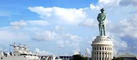 Ternyata Lambang Kejayaan Laut Indonesia Ada di Surabaya!