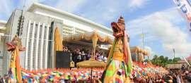 Pemuda Internasional Belajar Wisata Berkelanjutan di Kutai Kartanegara