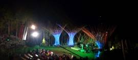 Eksotisme Ethnic Jazz Tanah Air di Amphitheatre Tertinggi Dunia