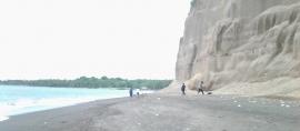 Pantai Tebing Masuk Kawasan Geopark Rinjani