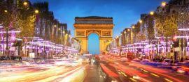 (FOTO) Puluhan Bis Indonesia Ber-wifi Gratis Mengaspal di Jalanan Paris
