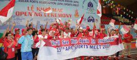 Indonesia Juara Umum di Kontes Olahraga Antar Pelabuhan se-Asean
