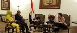 """Menlu RI Dengarkan """"Curhat"""" Mahasiswa Indonesia di Mesir"""