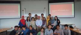 Di Negeri The Hobbit, Pelajar Indonesia Jadi Ujung Tombak Pengenalan budaya Indonesia