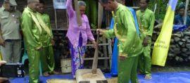 Tradisi lama kini kembali, ngemurok Jerami di Desa Namang.