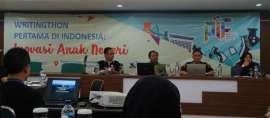 Hasil Writingthon Pertama Akan Jadi Buku, Siap-siap Kagum dengan Dunia Penelitian Indonesia