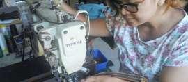 Semangat Sebagai Perempuan Asli Yogyakarta Mendorongnya Menjadi Pengrajin Kulit