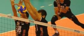 RI Defeats Qatar 3-0 at Asian Volley Ball Championship