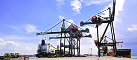 Pelabuhan tercanggih  ke-4 di Dunia, pertama di Asia dan Indonesia