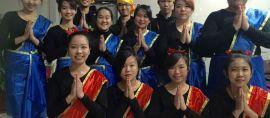 Tari Saman meriahkan Akhir Tahun 2015 di Hebei, China