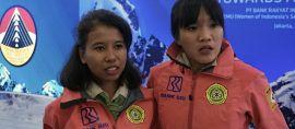 Selamat Datang Kembali Ke Tanah Air Dua Perempuan Pendaki Puncak Tertinggi Antartika