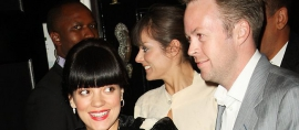 Smile: Lilly Allen Engaged in Bali