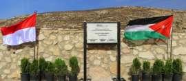 Ternyata Ada Taman Indonesia di Kota Salt, Yordania