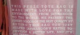 Tas Cantik dari Plastik Bekas bernama Pfuze