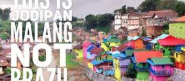 Nggak Usah ke Brazil ke Malang aja, Ada Kampung Warna Warni