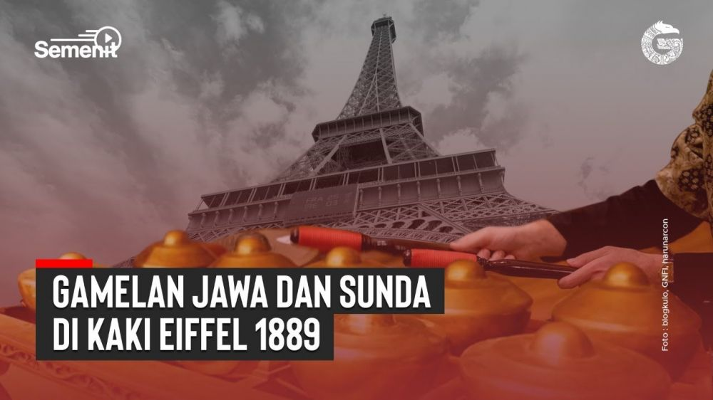 Gamelan Jawa dan Sunda di Kaki Eiffel 1889 | Good News From Indonesia