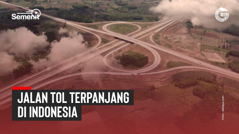 Ini Dia, Jalan Tol Terpanjang di Indonesia | Good News From Indonesia