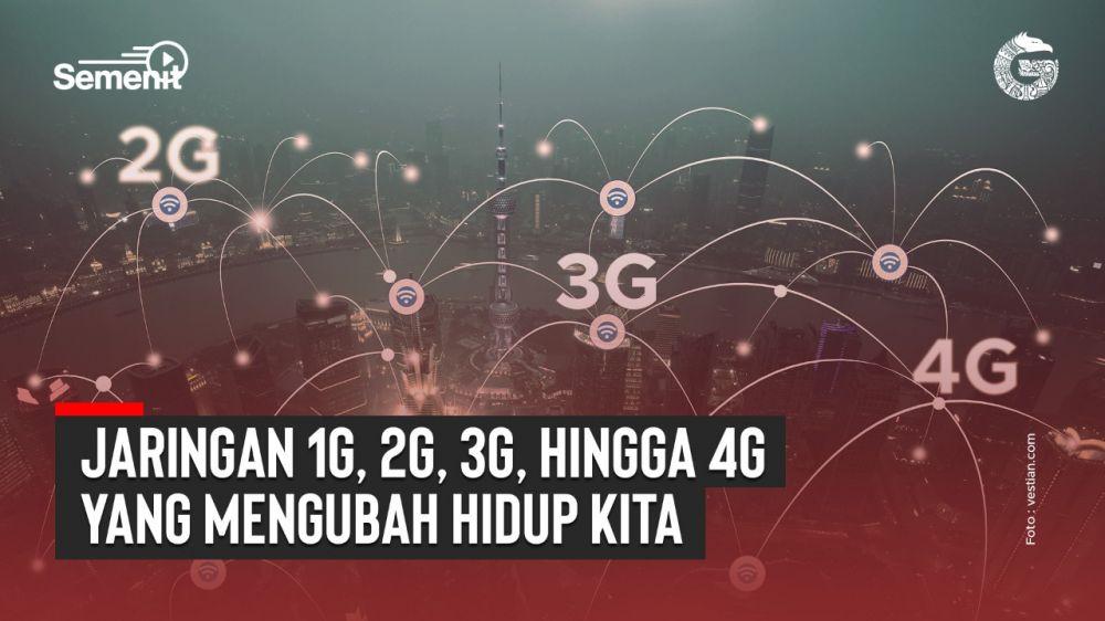 Jaringan 1G hingga 4G yang Mengubah Hidup Kita   Good News From Indonesia