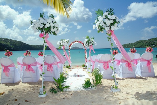 bermuda beach wedding
