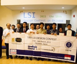 Tim Indonesia dan Panitia LSI Contest 2015