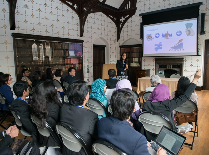 Academic Forum and Networking Exchange 2015, University of Cambridge, Inggris