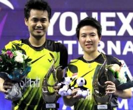 Pasangan ganda campuran Indonesia, Tontowi Ahmad dan Liliyana Natsir. (badmintonindonesia.org)