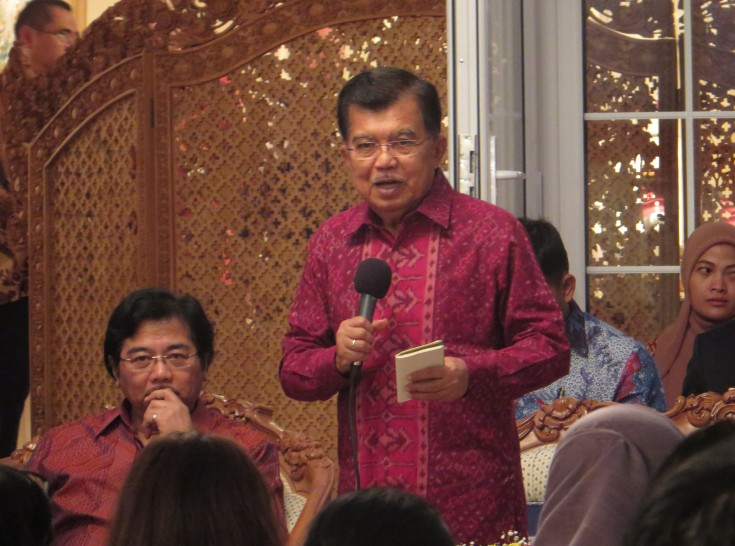 Wakil Presiden Jusuf Kalla di London