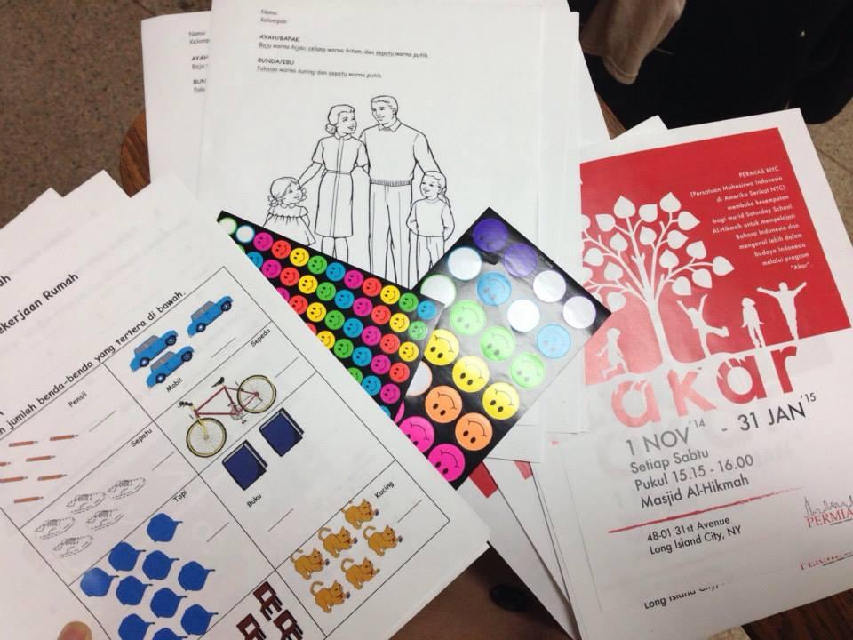 Buku-buku untuk Belajar Bahasa Indonesia di Kelas AKAR