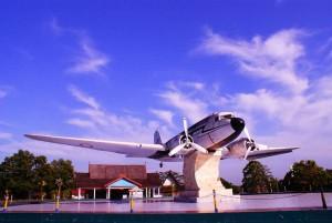 Monumen Pesawat RI-02 di Pangkalan Bun