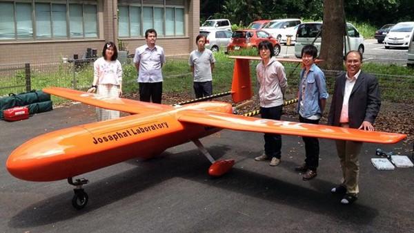 Drone buatan Josaphat dan tim (Foto: dok. Josaphat)