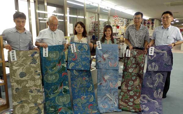Batik pada Yukata yang digunakan oleh Para Pesumo (Foto: ANTARA)